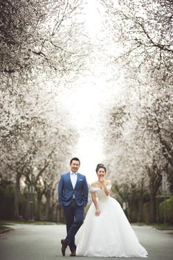 wedding photo in vancouver