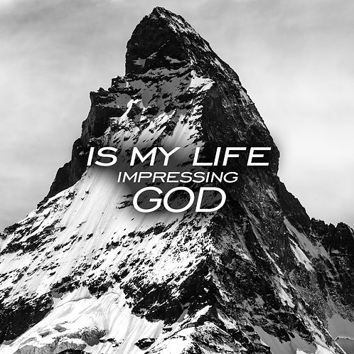 Is My Life Impressing God DVD