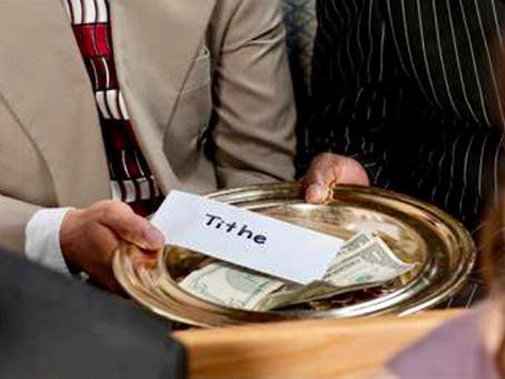 Tithing reveals an abundance of gratitude, not wealth!