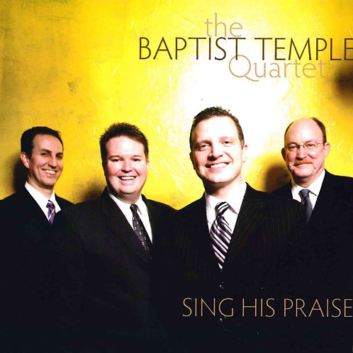Florence Baptist Temple Quartet CD
