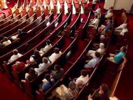 We NEED regular church attendance!