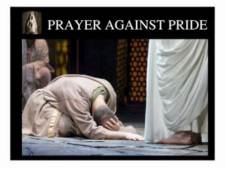Prayer against pride