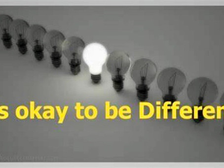 Choose to be different!