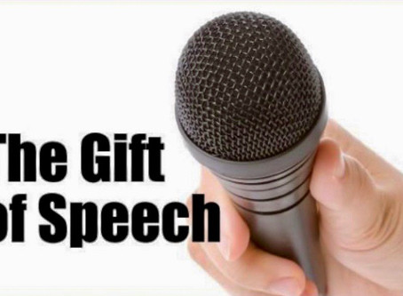 Our speech is a gift of God, for God!