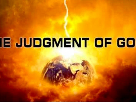 God's Judgment!