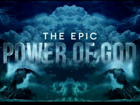 God has been displaying His power! Have you noticed?