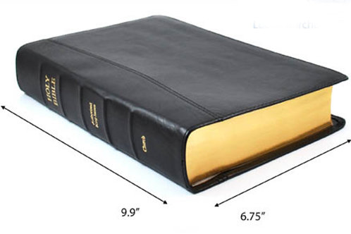 Leather Note Taker Bible