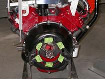Checking Run-Out On R3 Avanti Engine