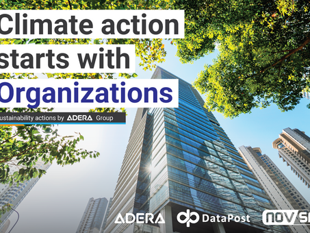 Climate Action starts with Organizations