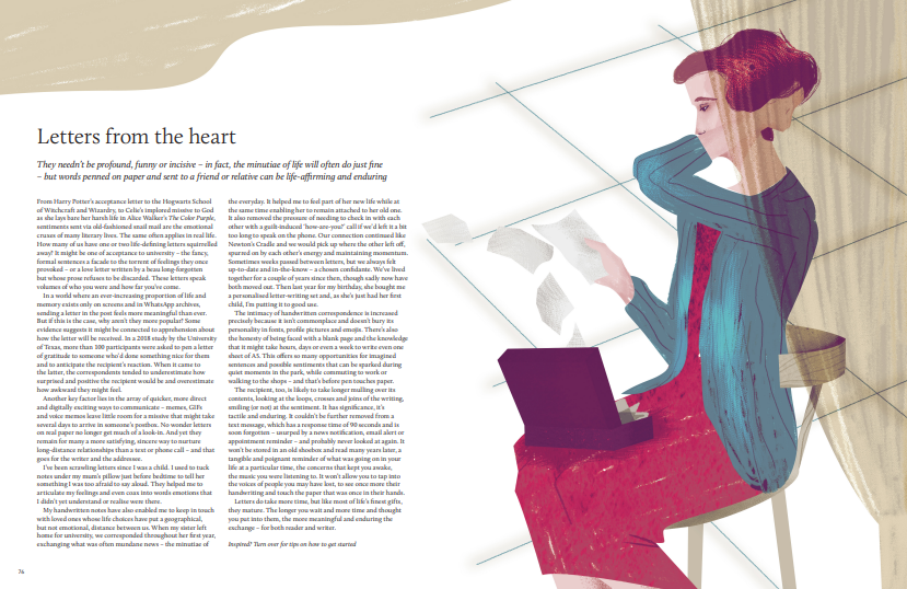 Letters from the heart. ©GMC Publications/Breathe