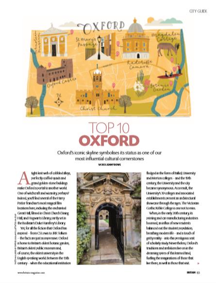 Oxford city guide