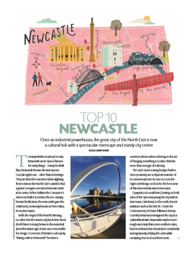Top 10 Newcastle