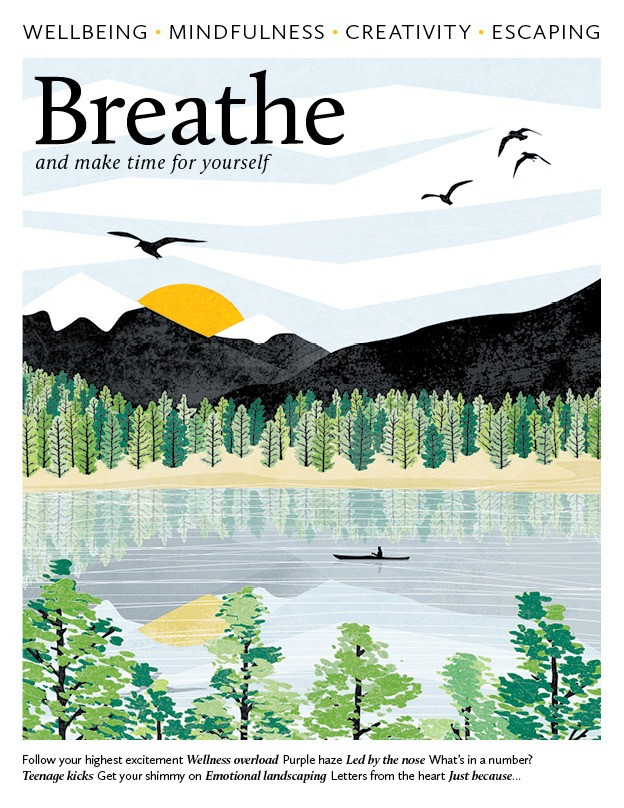 Breathe issue 30 cover. ©GMC Publications/Breathe
