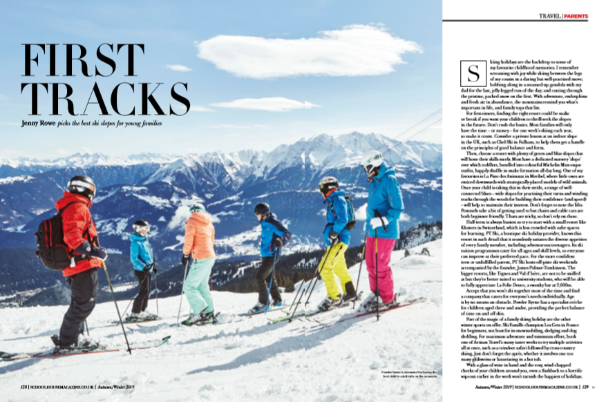 First Tracks family ski guide