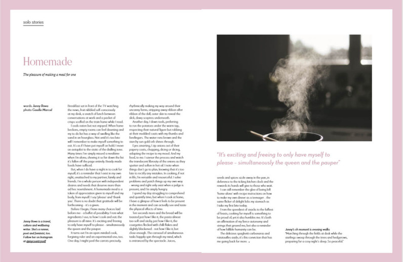 Oh issue 53, first person story