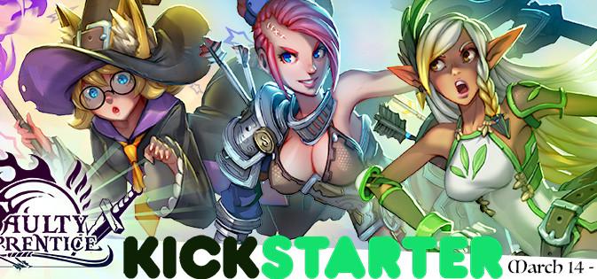 Faulty Apprentice Kickstarter Launch Date!