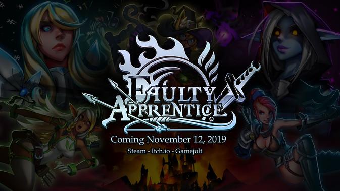 Faulty Apprentice Release Date!