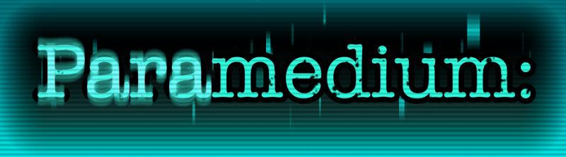 Paramedium Title with background