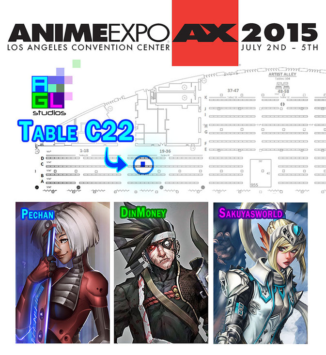 AGL studios will be @ Anime Exp 2015
