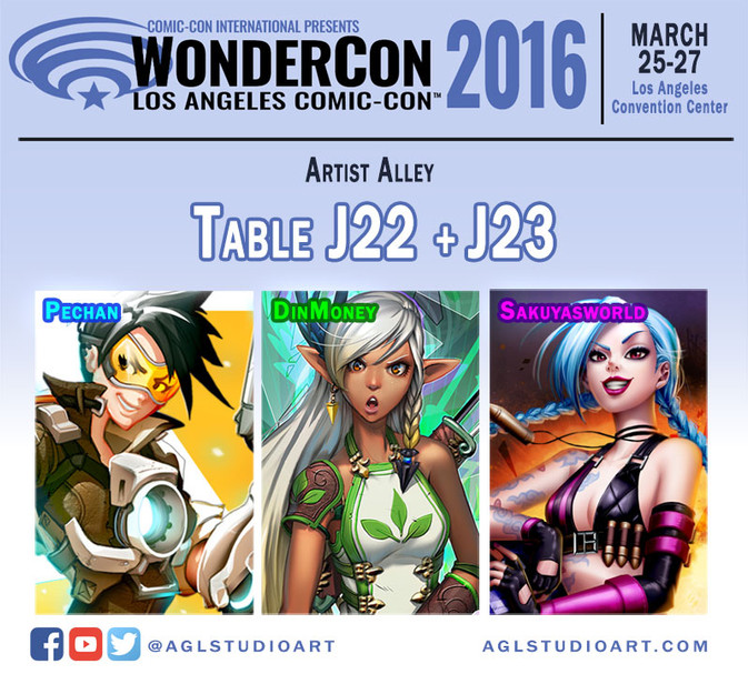 Table J22-23 @ Wondercon 2016!