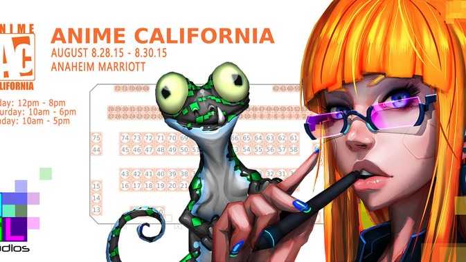 AGL studios will be at booth #1 at Anime California!