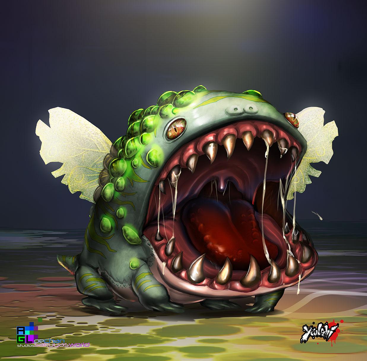 Potbelly beast