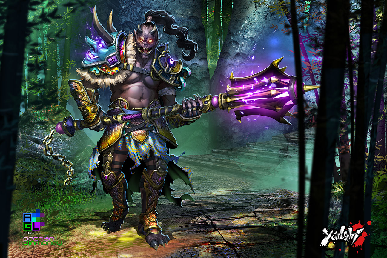 Oni Warrior