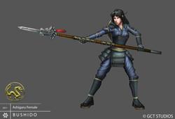 Ashigaru girl