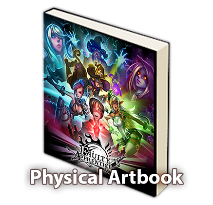 Faulty Apprentice Physical Artbook