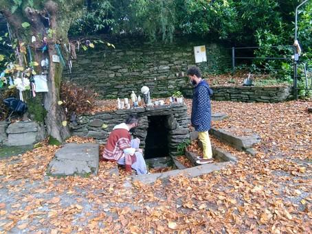 Santa Gobnait : Dea delle Api e Cervi Bianchi protettrice dei Fabbri