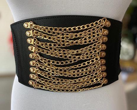 Chain Big Elastic Belt