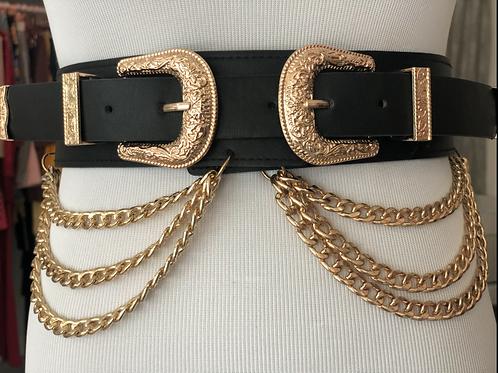 Double Belt Black
