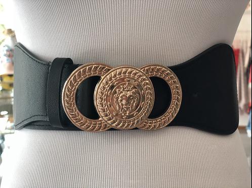 Black Elástic Belt