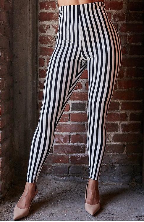 Stripe Leggins