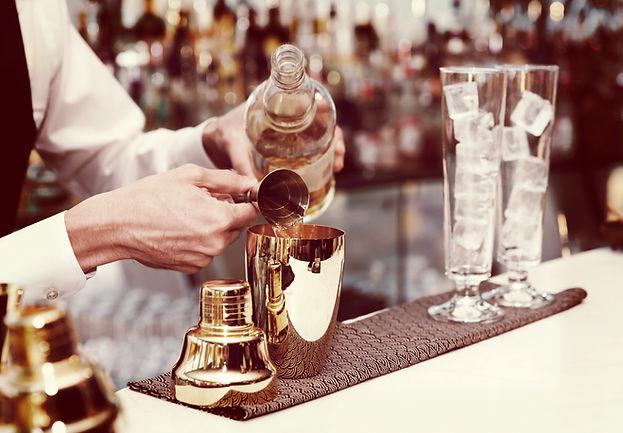 Cocktails préparation