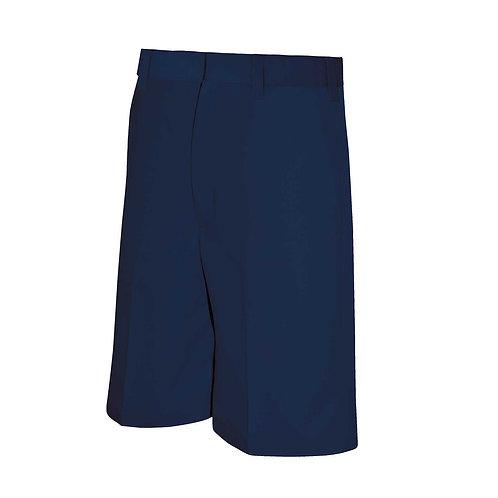 Grace Navy Flat Front Shorts