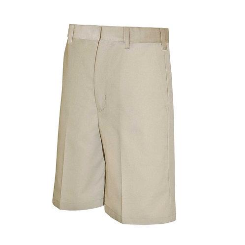 Menard Khaki Flat Front Shorts
