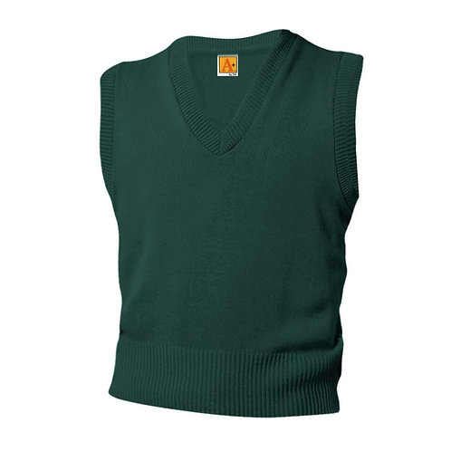 V-Neck Sleeveless Sweater Vest