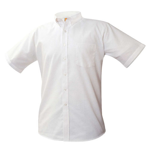 Menard White Oxford Short Sleeve Shirt