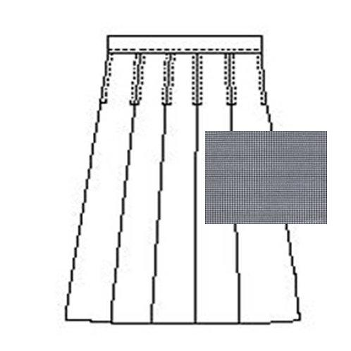 OLPS Plaid 8-Pleat Skirt