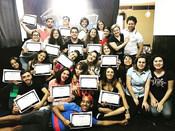 Fechando mais um curso para atores!!! 🎭
