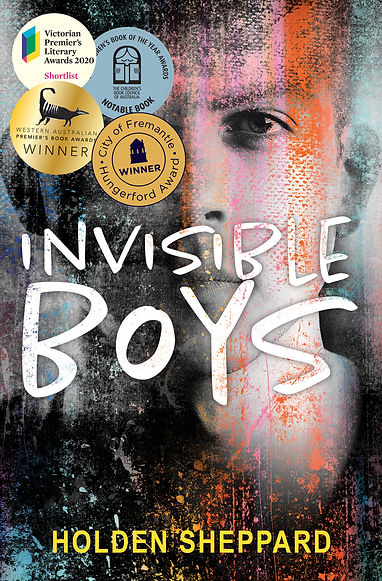 Invisible Boys - Updated Cover Dec 2020.