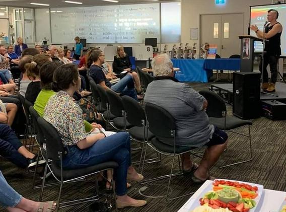 Geraldton Regional Library Author Talk