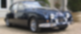 Jaguar MK II 3.8 Navy Blue - Lennert Bille