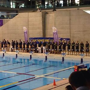 Demi-finale Championnat de France Water-polo Montpellier-Marseille