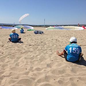 Première Etape de l'ENGIE Kite Tour   Coupe de France FFVL Speed Crossing