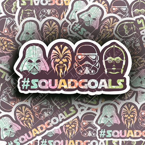 Star Wars #squadgoals Sticker