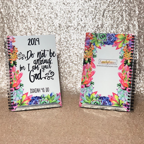 2019 Yearly Text Notebook - English