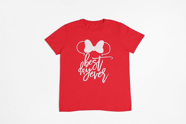 Minnie's Best Day Ever • Kids Crew Neck