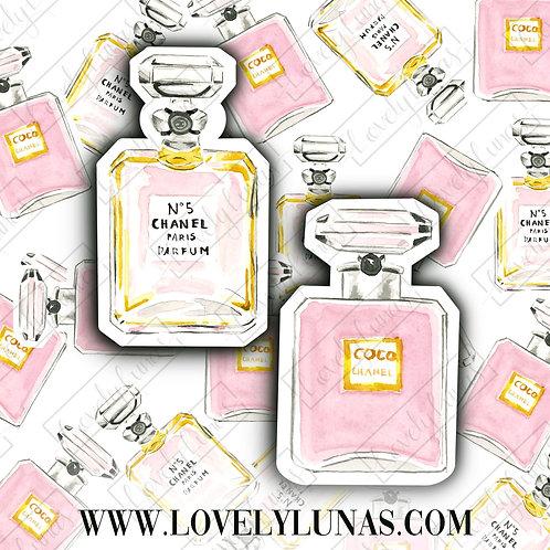 Chanel Perfume Bottle-Sticker